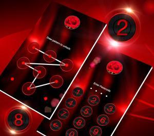 Dark Red Launcher Theme 2.4 Screen 5