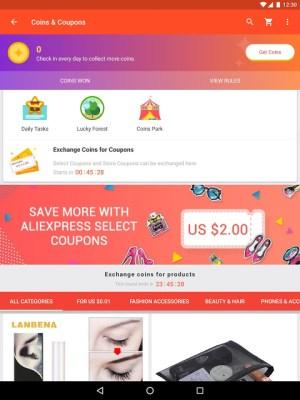 Android AliExpress - Smarter Shopping, Better Living Screen 1