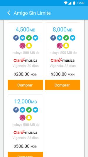 Mi Telcel 9.4.1 Screen 4