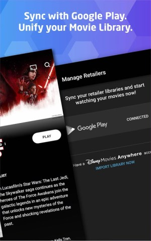 Movies Anywhere 1.3.0 Screen 1