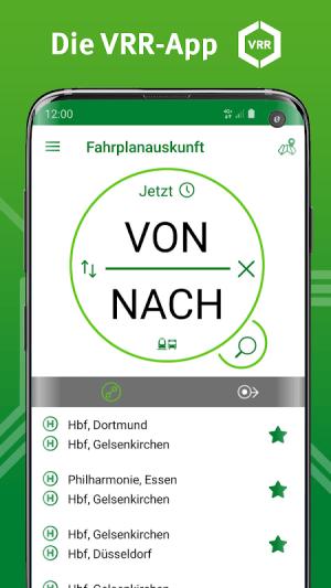 VRR-App - Fahrplanauskunft 5.37.14418 Screen 12