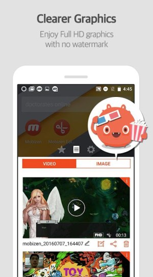 Mobizen 3.1.1.29 Screen 2