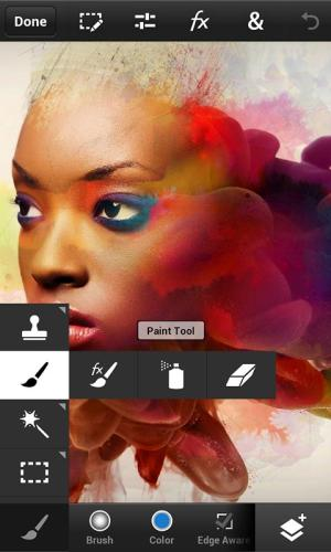 Photoshop Touch for phone 1.3.7.8 Screen 2