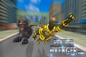 Superhero Panther Flying City Survival 1.0 Screen 3