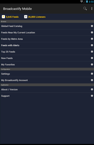 Broadcastify Police Scanner 1.66 Screen 6