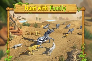 Android Cheetah Family Sim - Animal Simulator Screen 1