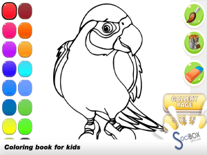 parrot coloring book 1.0.190417 Screen 5