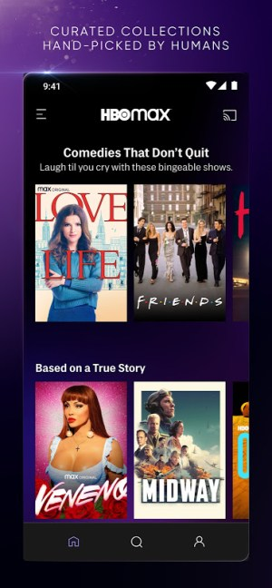 HBO Max: Stream and Watch TV, Movies, and More 50.36.0.2 Screen 2