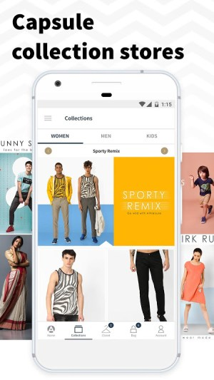 AJIO Online Shopping App 4.5 Screen 1