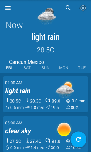 Weather Forecast & Widgets 1.2 Screen 3