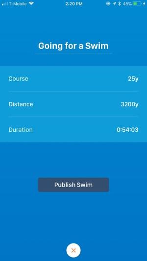 Swim.com Swim Workouts, Tracking, Log & Analysis 2.3.10 Screen 2