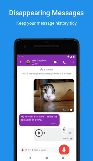 Signal Private Messenger 4.56.1 Screen 4