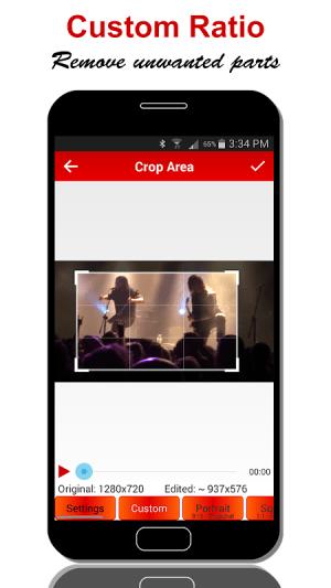Video Crop & Trim 2.2.9 Screen 2