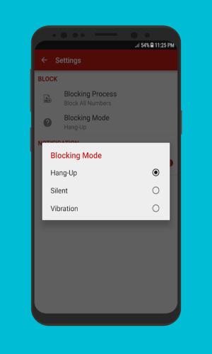 Android Caller Blacklist - Spam & Call Blocker Screen 2