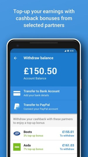 Android Quidco - Cashback, Discounts & Voucher Codes Screen 9