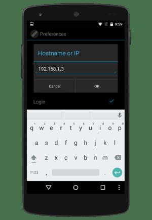 Android ENIGMA2 REMOTE CONTROL Screen 3