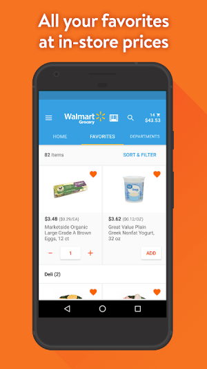 Walmart Grocery 4.6.0 Screen 3