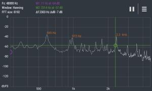 Advanced Spectrum Analyzer PRO 2.1 Screen 4