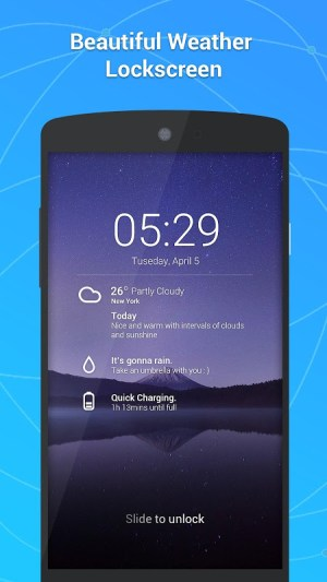 GO Weather - Widget, Theme, Wallpaper, Efficient 6.163 Screen 5