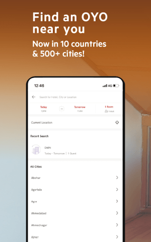OYO: Book Rooms With The Best Hotel Booking App 5.1.9 Screen 4