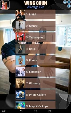 Android Wing Chun Kung Fu Screen 6