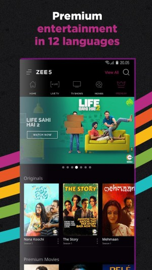 ZEE5 - Movies, TV Shows, LIVE TV & Originals 11.2.129 Screen 5
