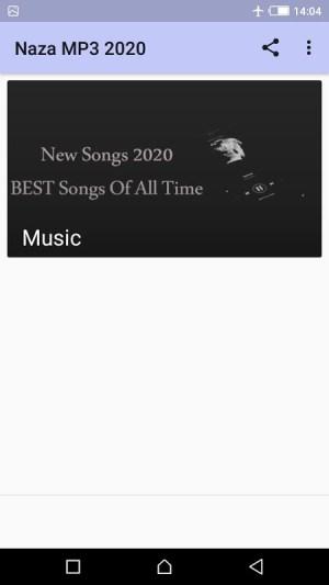 Naza Top Hits Sans Internet 1.0 Screen 2
