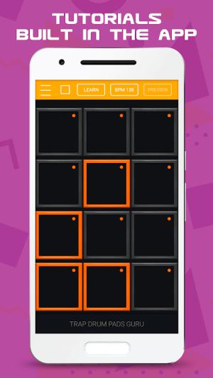 Android Trap Drum Pads Guru Screen 2