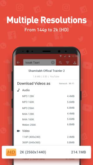 Youtube Video Downloader - SnapTube Pro 4.19.0.8908 Screen 2