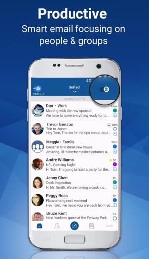 Blue Mail - Email & Calendar - Mailbox 1.9.6.10 Screen 5
