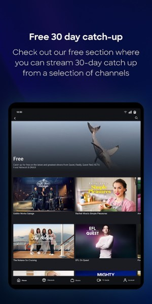 discovery+ 2.1.0 Screen 2