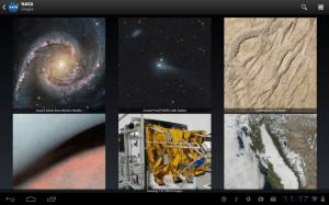 NASA App 1.63 Screen 1