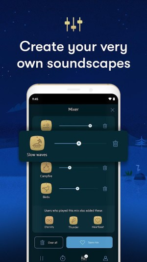 Relax Melodies: Sleep Sounds to Calm & Meditate 7.14.2 Screen 1