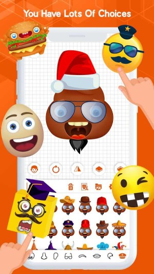Android Emoji Keyboard - Emoji Maker, WASticker, Emoticons Screen 8