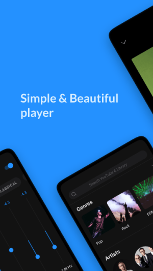 Android Lark Player - Free MP3 Music & Youtube Player Screen 6