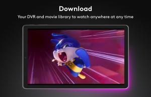 Android Xfinity Stream Screen 7