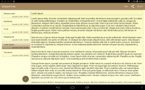 Notepad Free 1.3.2 Screen 2