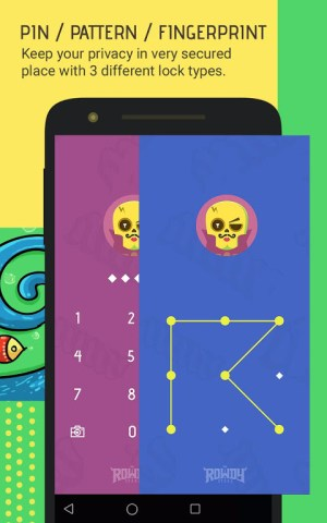 Android Skullock Photo vault: Lock private photos & videos Screen 8
