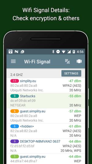 Network Analyzer 3.6.2 Screen 1