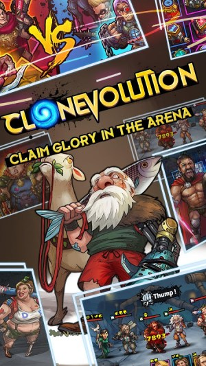 Clone Evolution: War of the Mutants 1.0.6 Screen 1