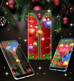 Christmas lock screen 5.0 Screen 1