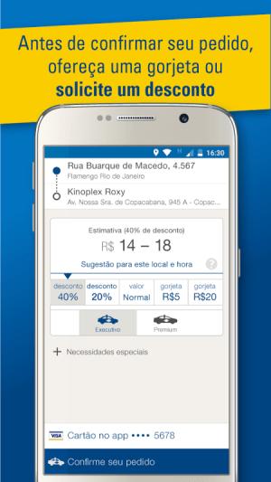Táxi Pontual 2.2.58 Screen 1