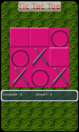 Android Tic tac toe Screen 7