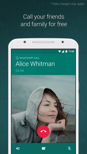 WhatsApp Messenger 2.21.7.5 Screen 2