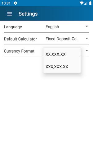 FD Calculator (EMI, SIP, RD, Loan, Gratuity & PPF) 4.0 Screen 6