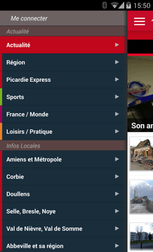 Courrier Picard 1.1.1 Screen 2