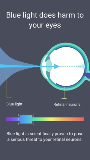 Blue Light Filter - Night Mode, Night Shift 1.4.7N Screen 4