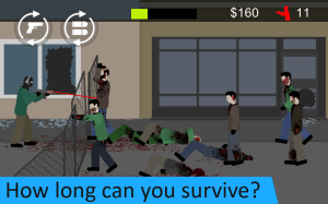 Flat Zombies: Defense & Cleanup 1.7.1 Screen 6