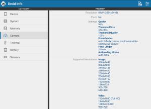 Droid Hardware Info 1.2.2 Screen 14