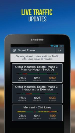 NaviMaps: 3D GPS Navigation 3.0.0 Screen 4